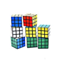 Wholesale game educational resale online - Puzzle cube Small size cm Mini Magic Rubik Cube Game Rubik Learning Educational Game Rubik Cube Good Gift Toy Decompression toys