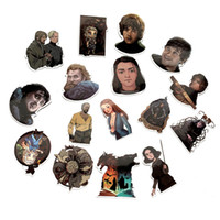 Wholesale 11 laptops for sale - Group buy 20 Waterproof Game of Thrones PVC Stickers For Suitcase Laptop Motorcycle Skateboard Luggage Decal Kids Toy DIY Sticker