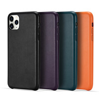 Wholesale iphone back case top online – custom High Class PU Leather Solid Color Shock Proof Back Case for Iphone SE2020 PRO MAX Samsung S20 Huawei P40 Top Quality Cover