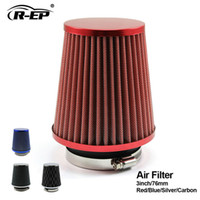 Wholesale universal intake piping for sale - Group buy R EP Universal Car Air Filter inch Cold Air INTAKE Supercharger for mm intake hose Kit filtro de ar esportivo