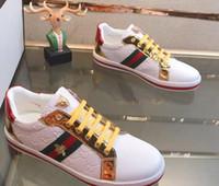 Wholesale sole design shoes resale online - 01 LouisVuittongucci men s designer shoes ladies low to help leather rubber soles men s shoes design sports shoes casual