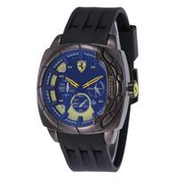 relógio de pulso militar suíço venda por atacado-AA3A Novo Relógio De Quartzo Suíço INVICTA Relógio De Pulso De Aço Inoxidável Rosa de Ouro Dos Homens Esporte Militar DZ Relógios Pulseira De Silicone Calendário Do Exército Relógio A3