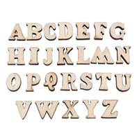 Wholesale diy old toys wooden resale online - 200pcs Safe Wooden Letters Alphabet for Kids Early Education Children Learninng Toys Developing Intelligence DIY Decoration Prop
