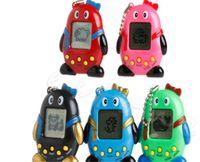 sanal oyunlar toptan satış-Elektronik pet Tamagochi Oyuncaklar Vintage Sanal Pet Siber Oyuncak Tamagotchi Dijital Pet Çocuk Oyunu Komik Oyuncaklar