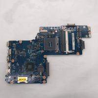 Wholesale intel hm77 motherboard online - High quality for C850 L850 C50 C50D H000061920 Laptop Motherboard HM77 GM PGA989 DDR3 Tested