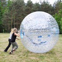 Wholesale inflatable rentals resale online - mm TPU Inflatable Body Zorb Ball m Diameter Good Price Inflatable Human Bowling For Rental Business