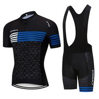 Wholesale 2019 New Pro Team Cycling Jerseys Anti UV Breathable Cycling Clothing Black Full Zipper Anti pilling Bicycle Clothing Ropa Ciclismo