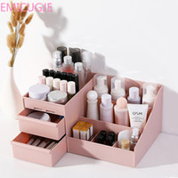 Wholesale dress housings for sale – best Skin Care Rack House Organizer Container Mobile Phone Sundries Cosmetic Storage Box Drawer Desktopplastic Makeup Dressing Table