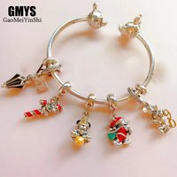 Wholesale mickey silver for sale - Group buy GAOMEIYINSHI Sterling Silver Quality Exquisite Pandoras2019 New Mickey Mini Bracelet With Logo