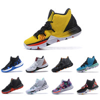 Wholesale black white art for sale for sale - Hot Sale Irving Limited Men Basketball Shoes s Black Magic for Kyrie Chaussures de basket ball Mens Trainers Designer Sneakers US