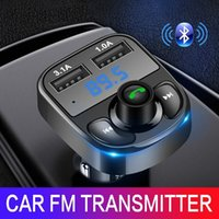 Wholesale car mp3 modulator usb for sale - Group buy FM Transmitter Aux Modulator Bluetooth Handsfree Car Kit Car Audio MP3 Player with A Quick Charge Dual USB Car Charger