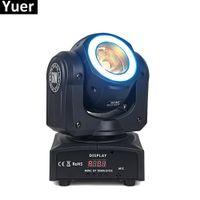 Mini LED 60W Moving Head Beam Lights Stage Dj Lamp LED Effect Lights RGBW & Mixed DMX For Professional KTV DJ Disco Nightclubs