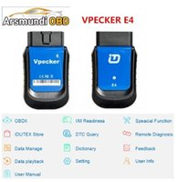 Wholesale epb tools for sale - Group buy VPECKER E4 Phone Bluetooth Full System OBDII Scan Tool for Android Support ABS Bleeding Battery DPF EPB Injector Oil Reset TPMS