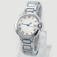 Wholesale 2019 Hot Sale Fashion ladies watches women man watch Stainless Steel Bracelet Wristwatches Brand female clock lovers watch classical watch