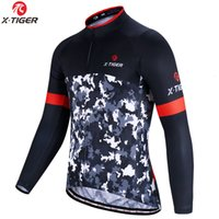 Wholesale spring cycling jersey for sale - Group buy X Tiger Spring Long Sleeve Cycling Jerseys Maillot Ropa Ciclismo MTB Bike Clothes Clothing Racing Breathable Cycling Clothing