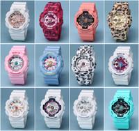 relógios femininos venda por atacado-2019 Novo SMAEL Marca de Qualidade Relógios Desportivos para As Mulheres À Prova D 'Água 50 M Militar Exército Dual Display Relógios de Pulso Estudante Relógios Montre 3A