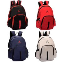 Wholesale backpacks for travel for sale - Group buy NEW air jordam Sports soccer Backpack aj bags for man women youth Unisex Backpacks Travel Outdoor Knapsack