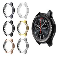 Wholesale galaxy s4 case for sale – best 42mm mm Plating TPU Scratch Resist Frame Protective Case Cover Shell For Samsung Gear S3 Classic S4 Galaxy Watch