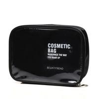 ingrosso scatola di trucco grande formato-Custodia cosmetica da viaggio per donna trasparente Custodia cosmetica da donna per trucco trasparente