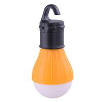 kamp çadırları için ışıklar toptan satış-Yumuşak Işık Açık Asılı LED Kamp Çadır Işık Ampul Balıkçılık Fener Lamba Toptan Asılı Lambaları DHL