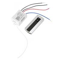 ingrosso canale di controllo dell'interruttore a distanza-AABB-Channel con trasmettitore digitale 220V ON / OFF 1 Interruttore Relè wireless Ricevitore Telecomando Spia luminosa