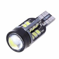 luz t15 al por mayor-Reversa de reserva luces 6000K NUEVO 10x T15 921 W16W cuña Super White 24-SMD 2835 LED