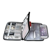 sabit disk sürücüsü çantası toptan satış-Sabit Disk Aksesuarları Taşıma Çantası Gadget Çanta Seyahat Kablo Kılıfı Elektronik Organizatör Şarj Kabloları Powerbank Sabit Disk