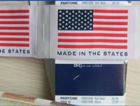 Wholesale clothing labels online - 250pcs custom made Clothing Labels Woven Labels sewing tags sewing labels woven tags
