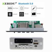 Wholesale usb mp3 player module for sale - KEBIDU Bluetooth5 MP3 Decoding Board Module Wireless Car USB MP3 Player TF Card Slot USB FM Remote Decoding Board Module