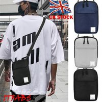sacos de lona para homens venda por atacado-NOENNAME_NULL Mans Unisex Bolsa de Ombro Sling Chest Pack Lona Casual Esportes Crossbody Bolsa