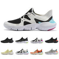 Wholesale coolest canvas shoes resale online - 2019 Free RN Mens Running Shoes Male Fashion Designer Sports Sneakers Summer Cool Breathable RUN Women Lightweight Knit Shoes