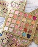 paletas de maquillaje natural al por mayor-Más reciente 12 unids Paleta de maquillaje Sombra de ojos Natural 30colors Sex Lust Paleta de sombra de ojos DHL Envío gratis