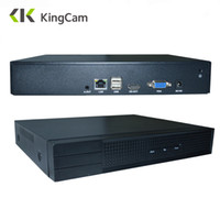 Wholesale network nvr ip for sale - Group buy KingCam ONVIF Channel Channel P NVR For CCTV System Kit P2P Network Video Recorder Full HD MP for IP Camera