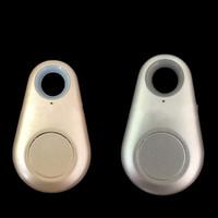 ingrosso dispositivi di monitoraggio portatili-Localizzatore wireless Dispositivo di localizzazione di telefoni cellulari Portachiavi a forma di goccia d'acqua Anti perso posizionatore Portatile Blu Rosso Bardian 5 8ax C1