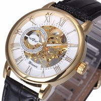 настраиваемая коробка часов оптовых-WINNER Royal Black Customized  Logo Box Retail Drop Shipping Wholesale Men Watch Packaging Box Wristwatch Gift for VIP