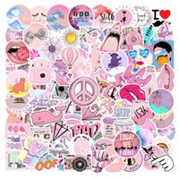 103PCS SET VSCO Mädchen Things Aufkleber Autocollant rosa Aufkleber für Auto Styling Fahrrad Motorrad Telefon Laptop Reise Gepäck Stikers