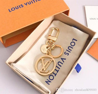 Wholesale gold rings 24k women resale online - Top quality Luxury Keychain Cross Leather Alloy Retro Christian New Keychain Key Ring Holder Charm Car Keyring Fashion Accessories Bag