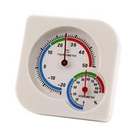 termômetro molhado venda por atacado-Mini Wet Higrômetro Umidade Cozinha Ferramentas Termômetro Medidor de Temperatura Interior Ao Ar Livre Doméstico Termômetro Preciso Medidor de Umidade ZJ0889