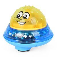 spray de brilho venda por atacado-Bola de Spray de Banho de bebê Nadar Brinquedo Crianças Piscina de Água de Praia Movendo Bola Brilhante