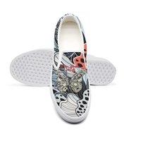 sapatos de design de borboleta venda por atacado-Stone Temple Pilotos Borboleta senhoras casual, antiderrapante tênis, design de impressão retro sapatos bonitos