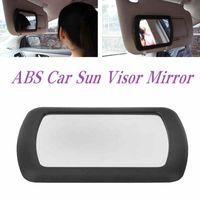 araba iç güneşlik toptan satış-Araba Güneşlik Kozmetik Ayna İç Narin Metal Clip HHA53 ile For Ladies Ayna Makyaj