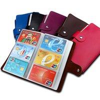 kartvizit defterleri toptan satış-Hakiki Deri Tasarımcı Marka Kredi Kartı Tutucu İş KIMLIK Kartı Vaka Kitap Tarzı 90 Sayısı Adı Kart Tutucu Kitap, Kart Sahibi