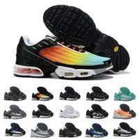 Wholesale running dresses resale online - 2020 TN TUNED mens designer running shoes men casual cushion women dress trainers chaussures hiking zapatos sports sneakers