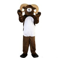 Wholesale christmas outfits for adults for sale - Group buy New high quality antelope Mascot costumes for adults christmas Halloween Outfit Fancy Dress Suit