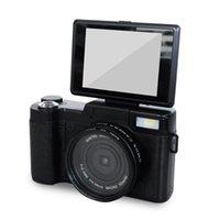dslr makro großhandel-24MP HD Half-DSLR Professionelle Digitalkameras mit 4x Teleobjektiv, Fisheye-Weitwinkelobjektiv, Makro-HD-Kamera
