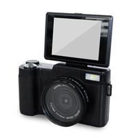 ingrosso macro di dslr-Fotocamere digitali professionali Half-DSLR HD da 24 MP con teleobiettivo 4x, obiettivo grandangolare Fisheye Fotocamera macro HD