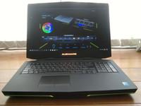 i7 laptop usado venda por atacado-Usado Gaming Laptop 18.5 '' Intel 4800MQ Quad Core i7 2.7GHz Sistema Windows7 NVIDIA GTX770 Notebook