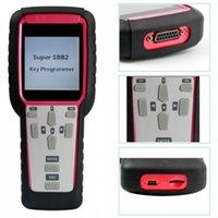 opel smart schlüsselprogrammierer großhandel-Neue neueste Super SBB2 Schlüsselprogrammierer Wegfahrsperre, Laufleistungseinstellung Öl / Service Reset / TPMS / EPS / BMS Handscanner