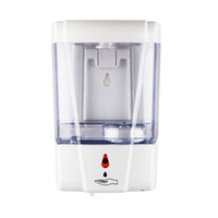 hand sanitizer dispenser al por mayor-600 ml dispensador de jabón automáticos Touchless Manos limpieza del sensor dispensador del desinfectante montado en la pared para baño Cocina suministra FFA4217