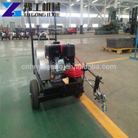 Wholesale painting roads for sale - Group buy Cold Plastic Spray Linelazer Road Line Marking Paint Machine For Sale